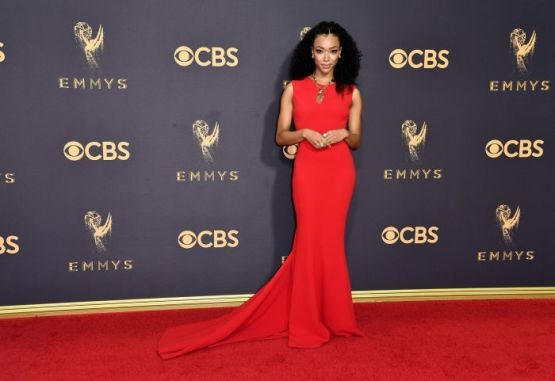 Mandatory Credit: Photo by Rob Latour/Variety/REX/Shutterstock (9064812eq) Sonequa Martin 69th Primetime Emmy Awards, Arrivals, Los Angeles, USA - 17 Sep 2017