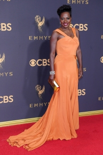 Mandatory Credit: Photo by David Fisher/REX/Shutterstock (9064810gz) Viola Davis 69th Primetime Emmy Awards, Arrivals, Los Angeles, USA - 17 Sep 2017