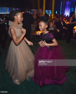 attends People and EIF's Annual Screen Actors Guild Awards Gala sponsored by TNT and L'Oreal Paris at The Shrine Auditorium on January 21, 2018 in Los Angeles, California.