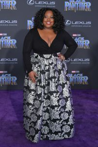 HOLLYWOOD, CA - JANUARY 29: Actor Amber Riley attends the premiere of Disney and Marvel's 'Black Panther' at Dolby Theatre on January 29, 2018 in Hollywood, California. (Photo by Neilson Barnard/Getty Images)