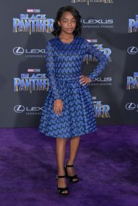 HOLLYWOOD, CA - JANUARY 29: Actor Marsai Martin attends the premiere of Disney and Marvel's 'Black Panther' at Dolby Theatre on January 29, 2018 in Hollywood, California. (Photo by Neilson Barnard/Getty Images)