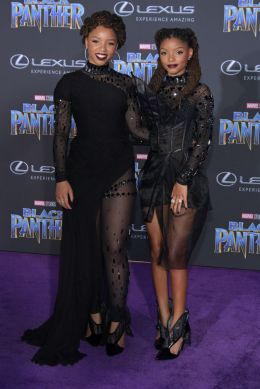 HOLLYWOOD, CA - JANUARY 29: Chloe X Halle attend the premiere of Disney and Marvel's 'Black Panther' at Dolby Theatre on January 29, 2018 in Hollywood, California. (Photo by Neilson Barnard/Getty Images)